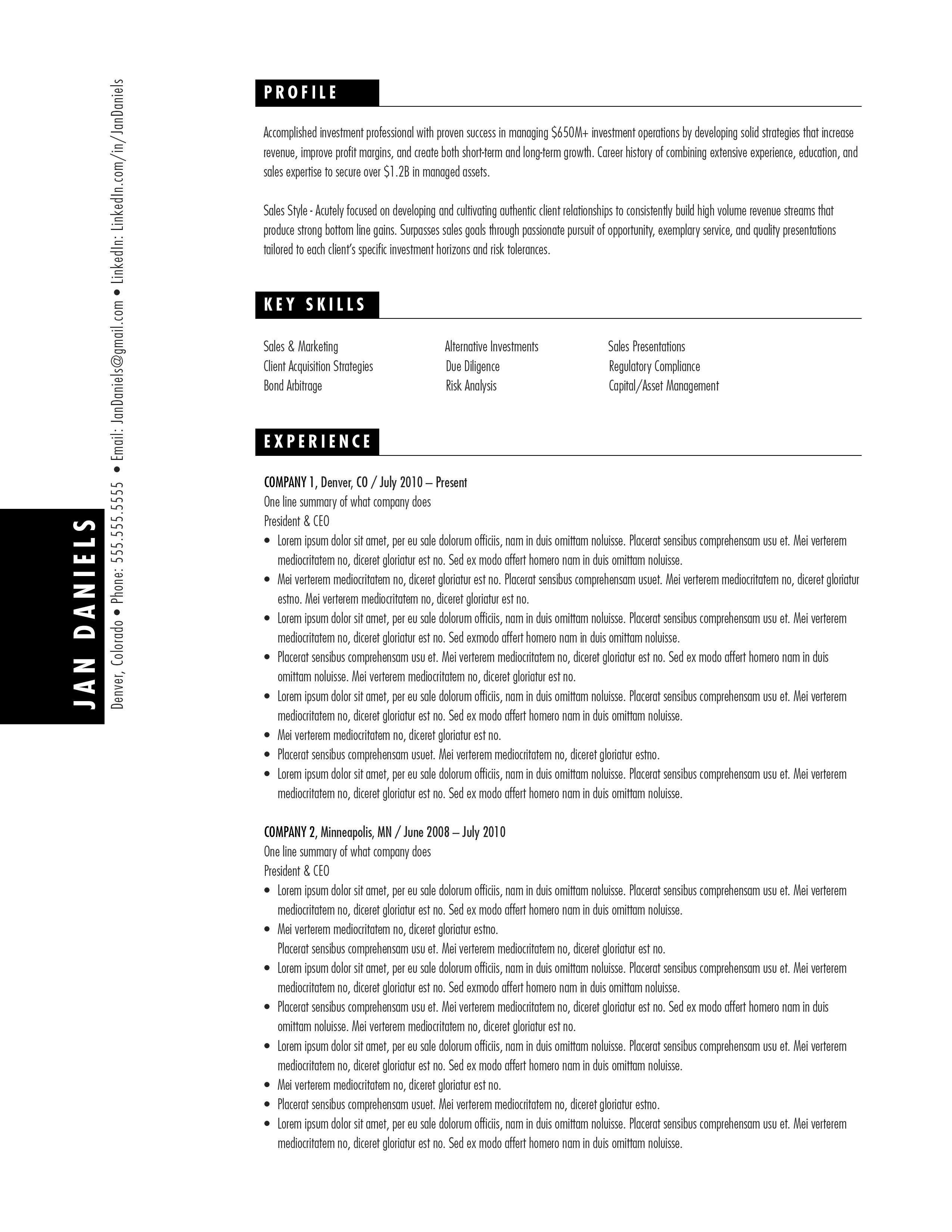 resume templates  u0026 writing  u2013 resume yeti
